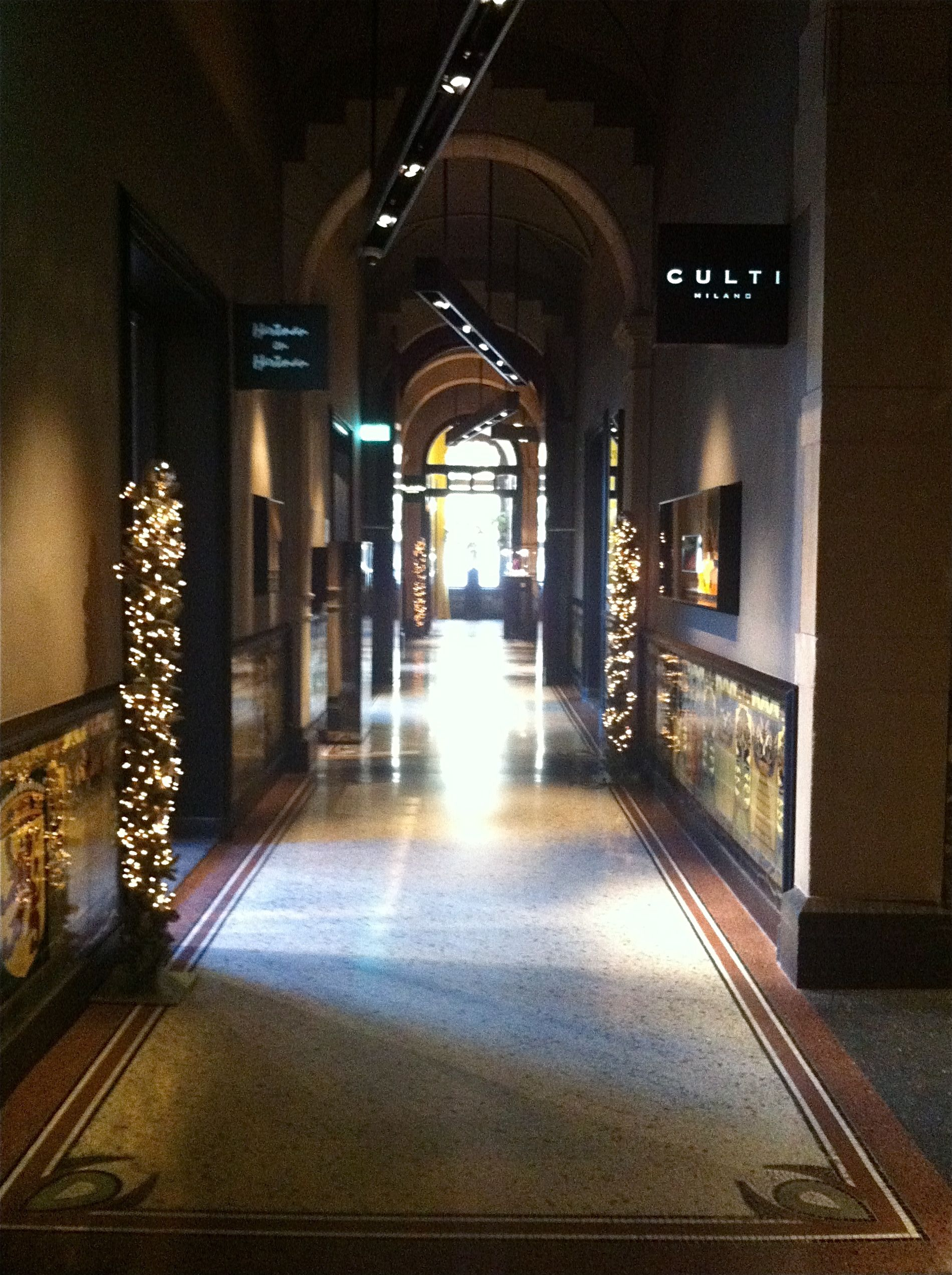 Shopping Arcade Conservatorium Hotel Amsterdam