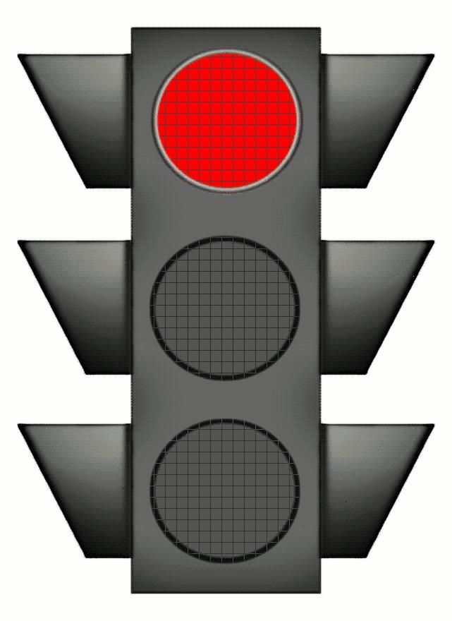 Traffic Signal Large Red Night Traffic Signal Traffic Light Scrapbook Cover