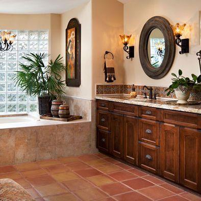 Spanish-Style Bathrooms