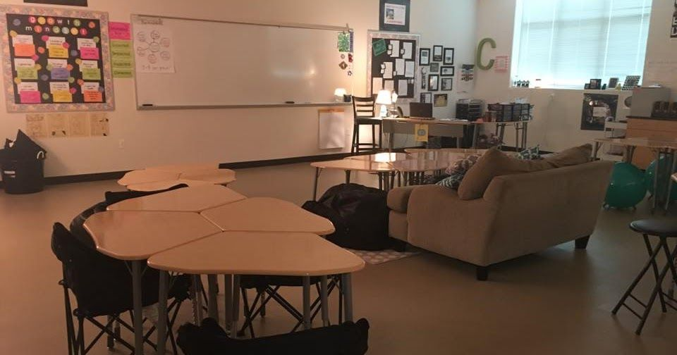 Flexible Seating In A High School Math Classroom Used A Donors