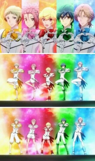Magical Anime Boys And Their Cute Poses Cute High Earth Defense Love The Actual Title Of The Show Magical Boy Anime Magical Boy Sailor Moon Funny