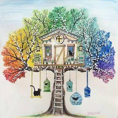 Resultado De Imagem Para Secret Garden Coloring Book Ideas