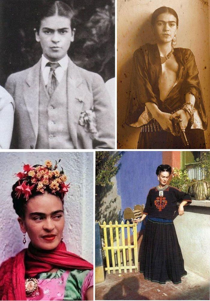 Fashion Flashback 1954: Frida Kahlo
