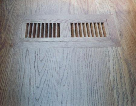 flush mount floor register by Daniels Floors, LLC