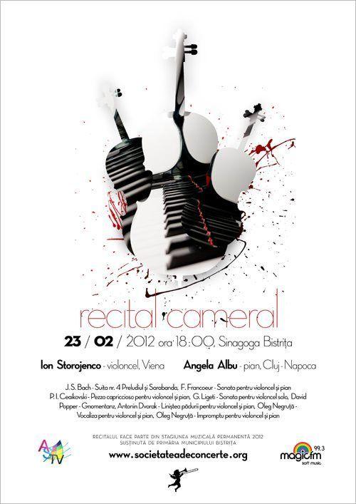 classical concert poster design