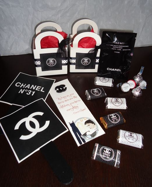 Best 25 Chanel Birthday Party Ideas On Pinterest