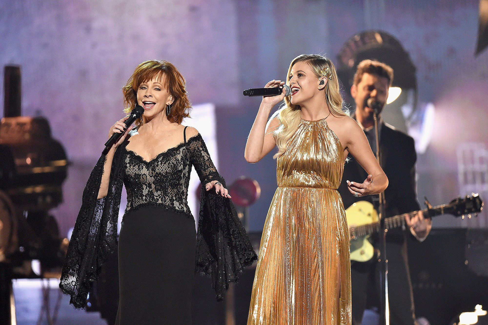 Female Vocalist of the Year Nominees Reba McEntire and