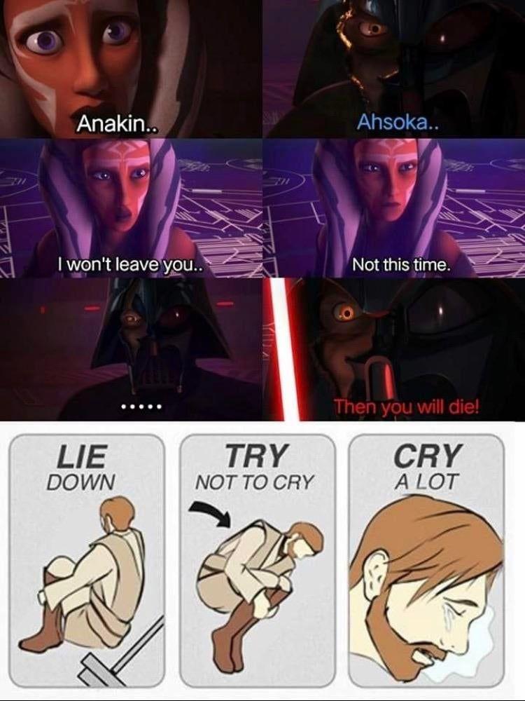 Prequelmemes Scenes Like This Made Rebels Good Star Wars Humor Star Wars Pictures Star Wars Ahsoka