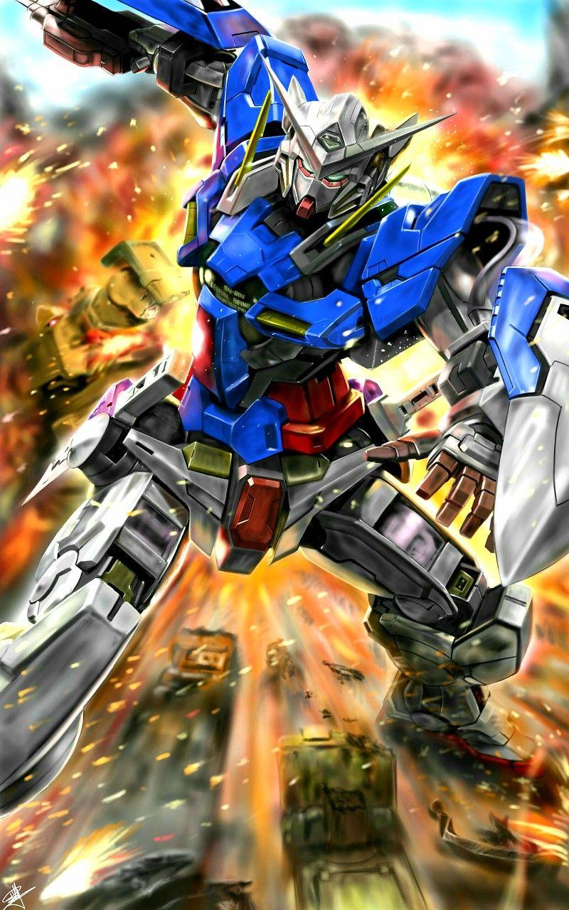 Pin By George R On Gundam Gundam Exia Unicorn Gundam Gundam Wallpapers Gundam exia wallpaper 4k