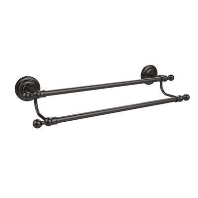 Allied Br Que New Double Wall Mounted Towel Bar Finish Oil Rubbed Bronze
