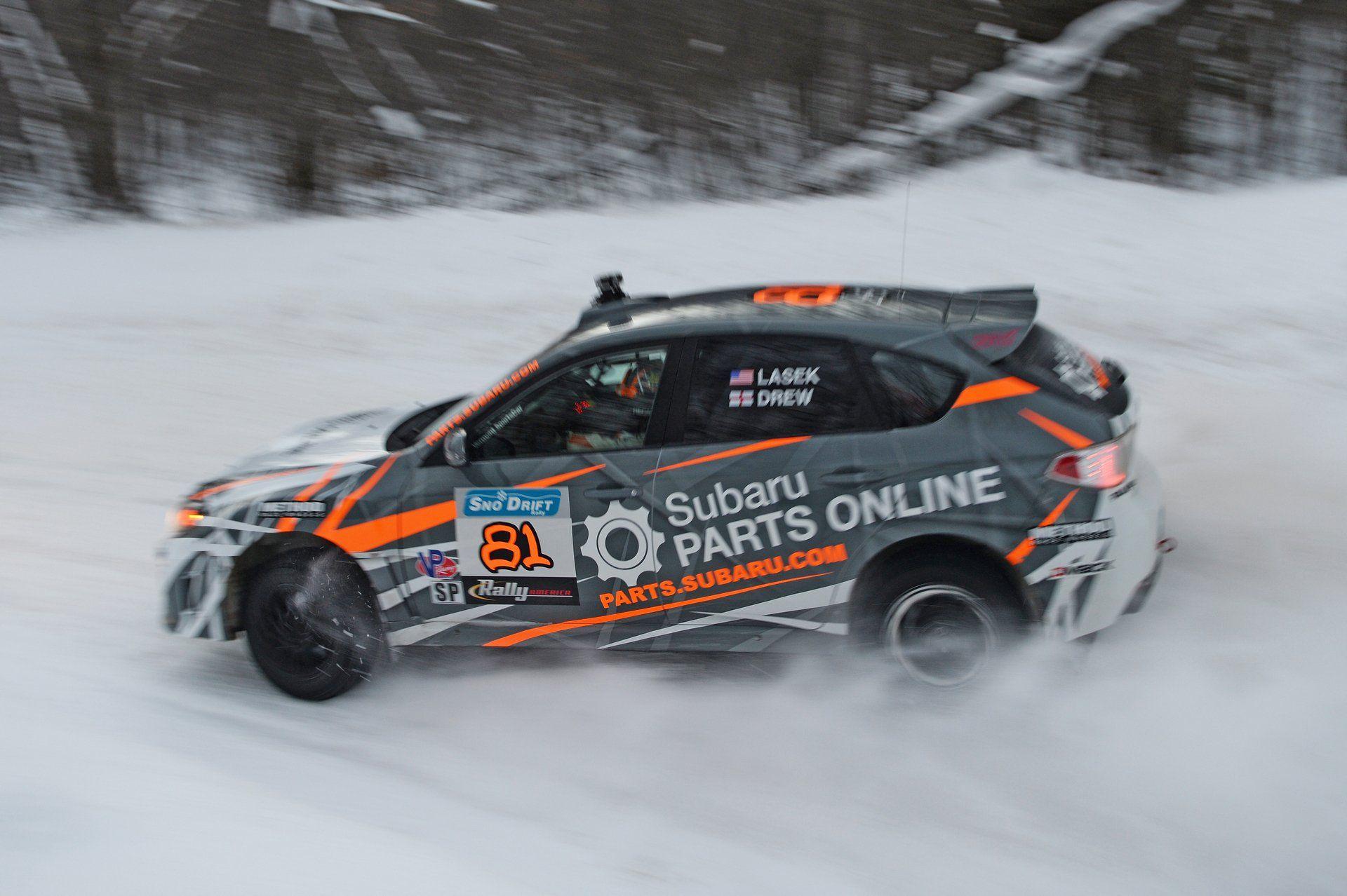 Subaru Rally Team USA announced today that team driver Bucky Lasek ...