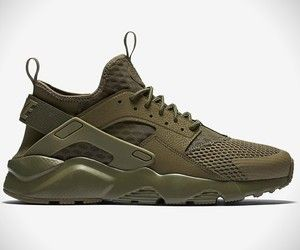 b4c81d75824ef Nike Air Huarache Run Olive Green
