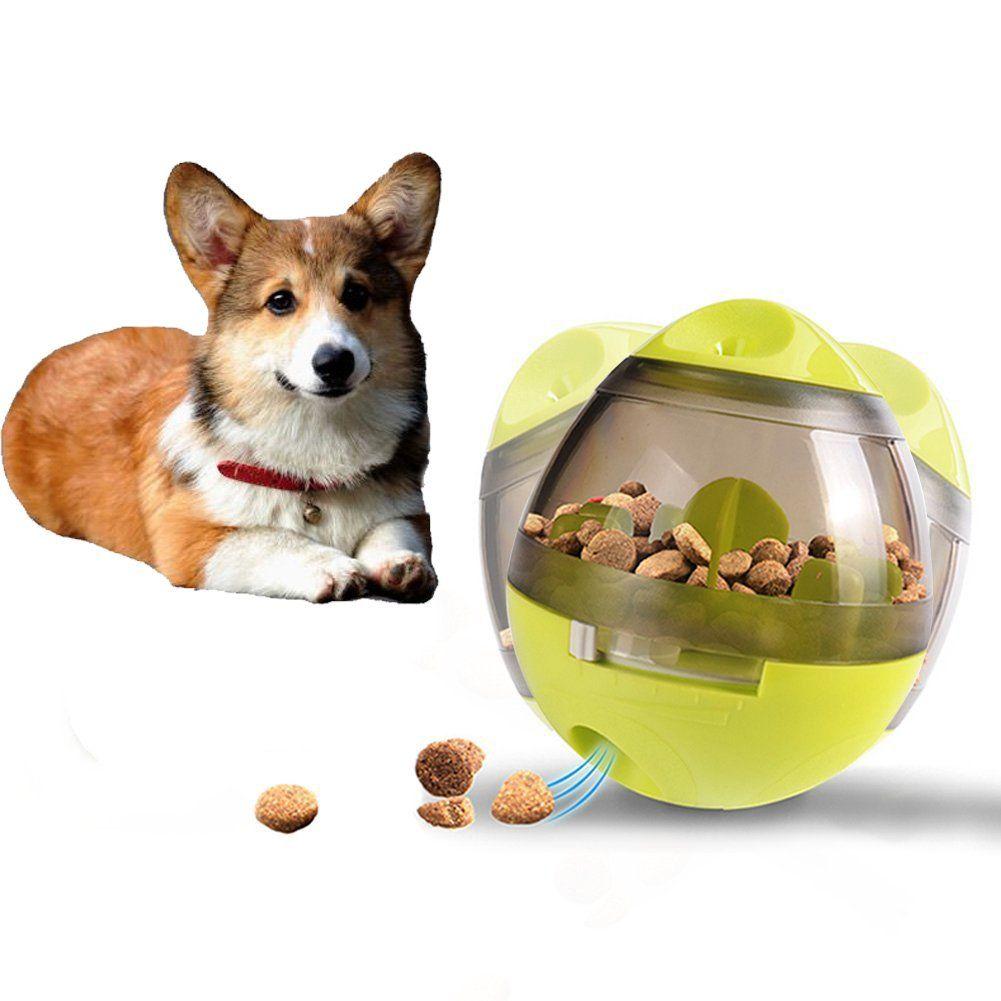 Gounia Interactive Dog And Cats Iq Treat Ball Dog Food Dispenser