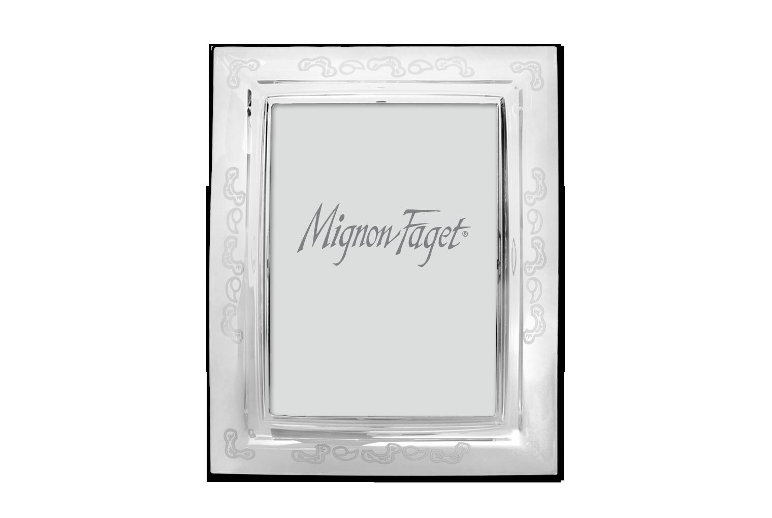Fleur de Lis Crystal Frame: Mignon Faget | Mf. Home | Pinterest