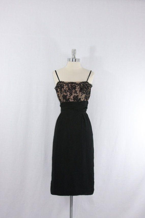 vintage little black dresses | Little Black Dress Vintage 1950\'s ...