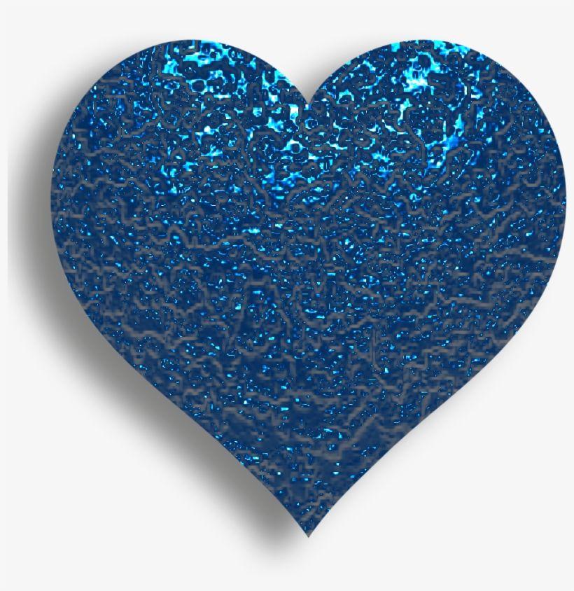 B I Love Heart With All My Heart Happy Blue Glitter Heart Emoji Transparent Png Heart Wallpaper Colorful Heart Heart Emoji