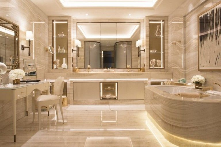 22 Elegant Marble Bathroom Designs Marble Bathroom Designs Bathroom Design Luxury Paris Bathroom Decor