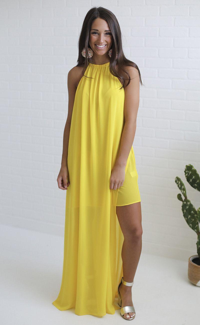 0a3a526604 show me your mumu  rochester maxi dress - daffodil chiffon ...