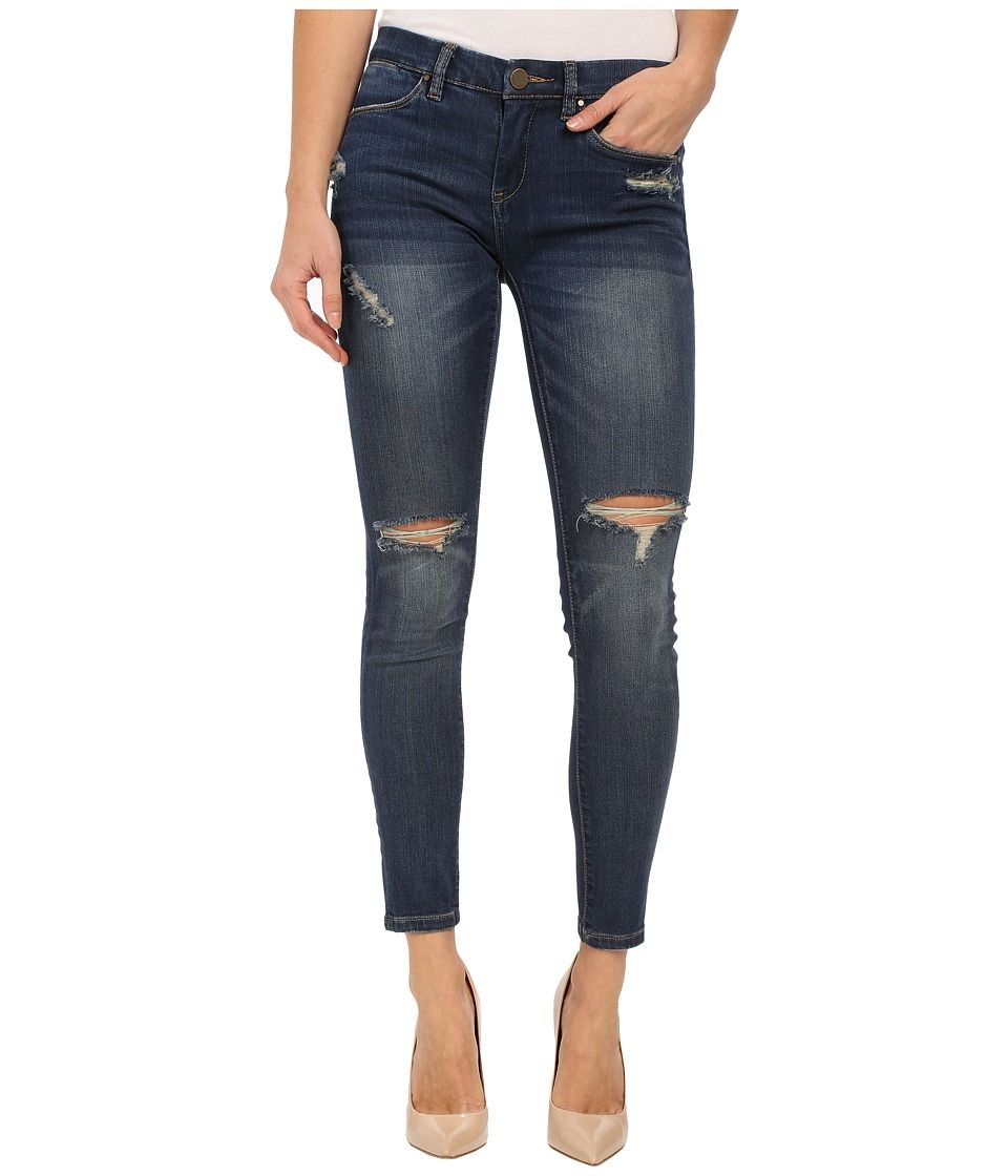 Blank NYC Skinny Classique Jeans - Dark Wash Jeans - Distressed ...