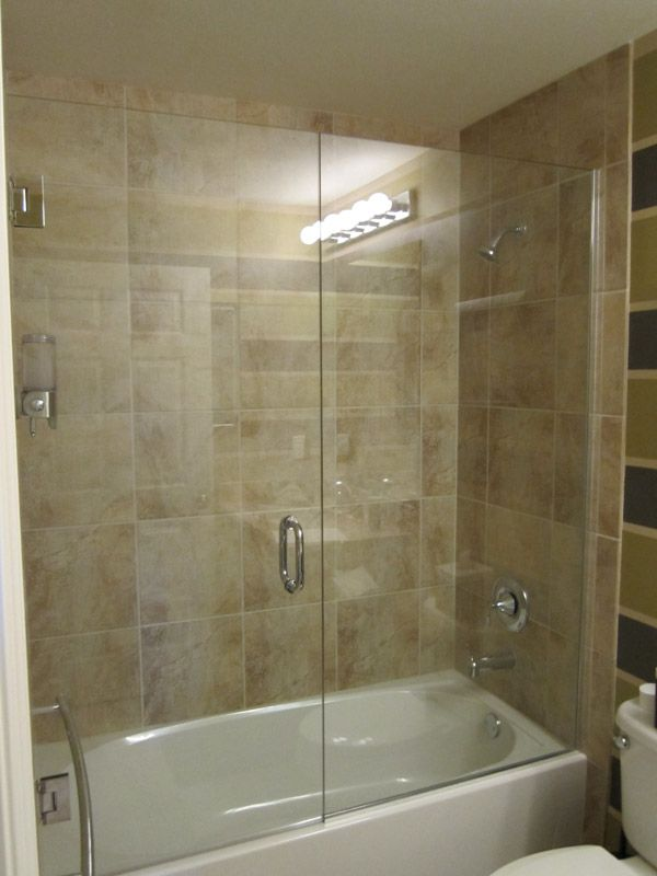 want this for tub in kids bath. Tub Shower Doors Bonita ...