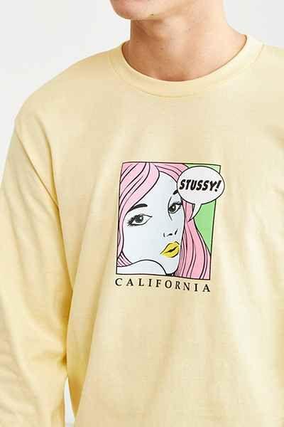 f6acba3aa6c4 Stussy Cali Girl Long Sleeve Tee