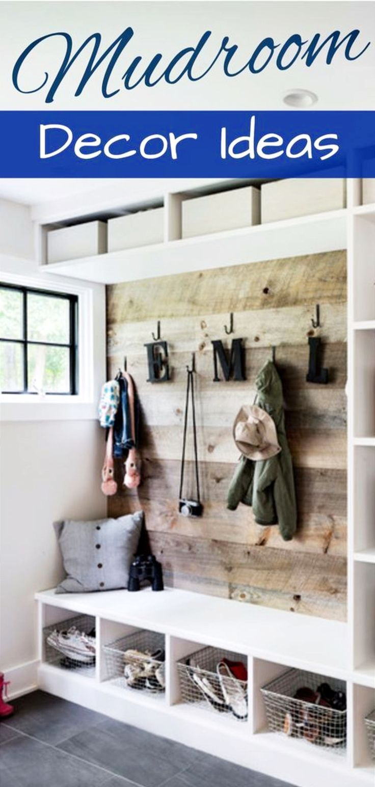 Mudroom Ideas - Farmhouse Mudroom Decor and Designs We Love images