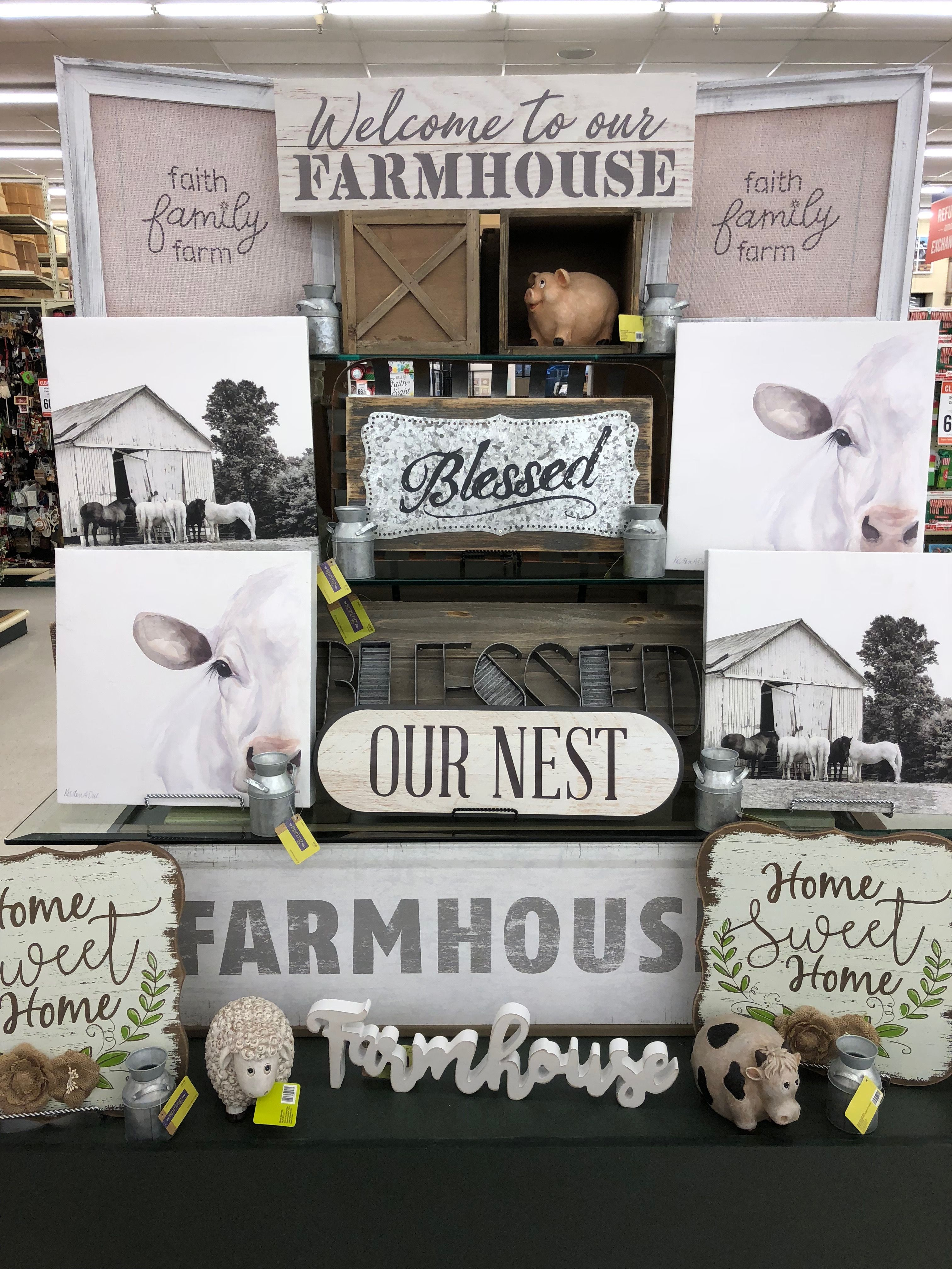 Hobby Lobby Spring 2018 Hobby lobby decor, Diy farmhouse