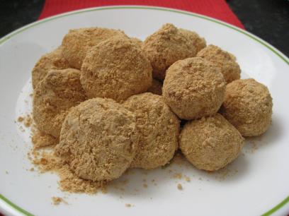 Peanut Butter Mochi Balls