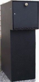 Locking Security Brick Style Mailbox With An Automatic Front Door