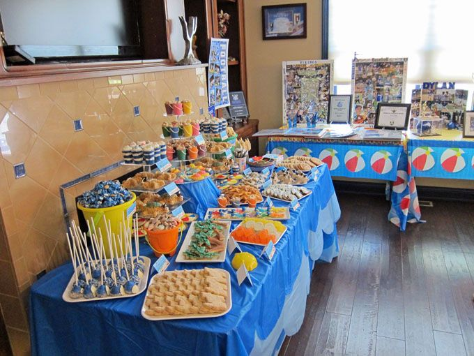 Beach Themed Party Decorating Ideas Part - 41: Beach Themed Graduation Party Ideas