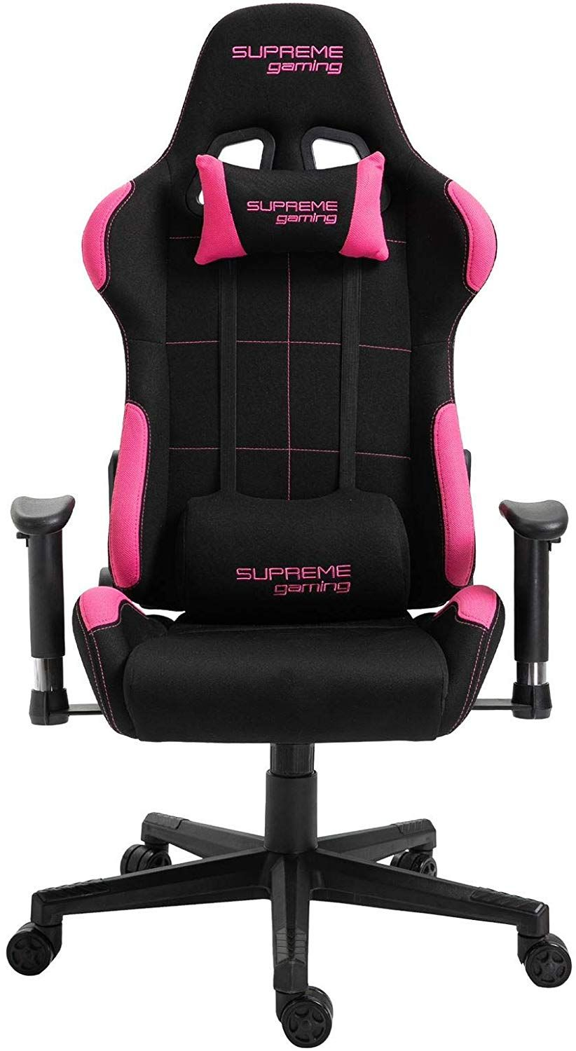 Idimex Chaise De Bureau Gaming Swift Racer Chair Style Racing Gamer Fauteuil Ergonomique Pivotant Siege A Roulettes Avec Dossier Inclinable Et Cou In 2020 Gaming Chair