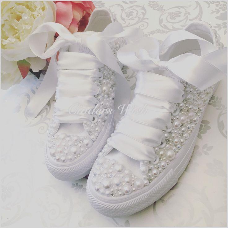 Wedge Bridal Converse Wedding Converse