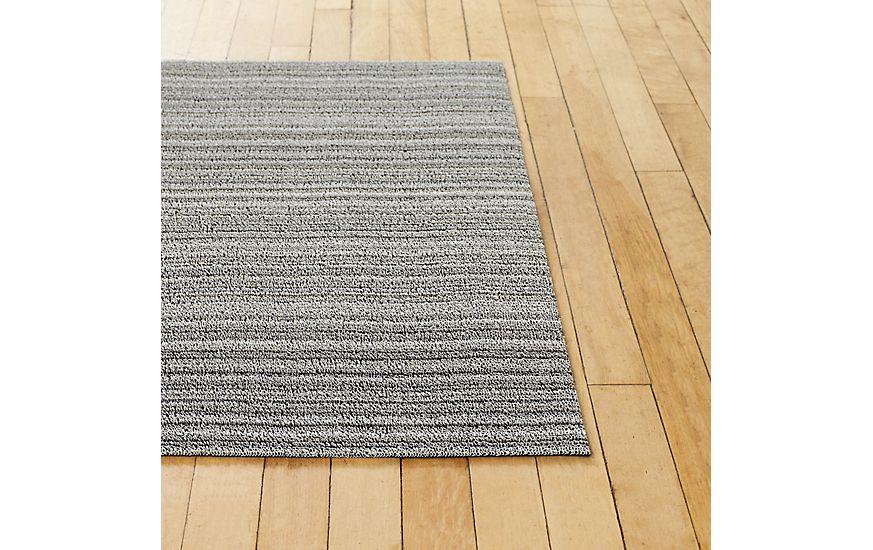 Chilewich Skinny Stripe Shag Mat Design Within Reach in