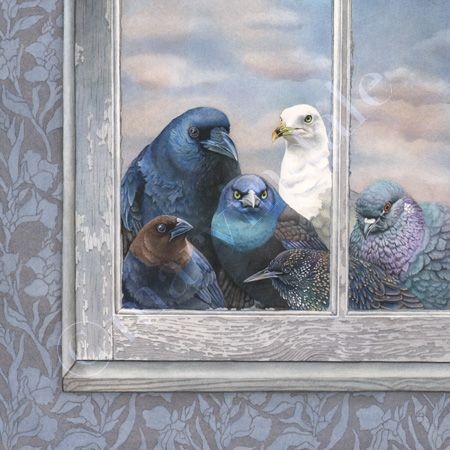 """I would just ***love*** to have these """"Bad Seeds"""" come knocking on my window pane!! So Awesome!!  by cori lee marvin"""