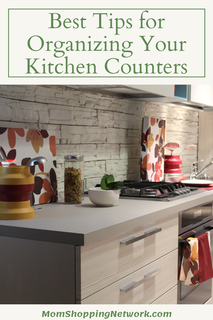 5 Of The Best Tips For Organizing Your Kitchen Counters Kitchen Kitchen Counter Kitchen Counter Organization