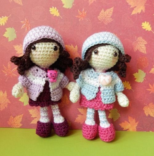 Autumn girls, free pattern | Häkeln | Pinterest | Häkeln
