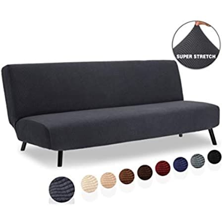 Easy Going Stretch Sofa Slipcover 1 Piece Couch Sofa Cover Furniture Protector Soft With Elastic Bottom For Kids Span In 2020 Slipcovered Sofa Checked Sofa Slipcovers