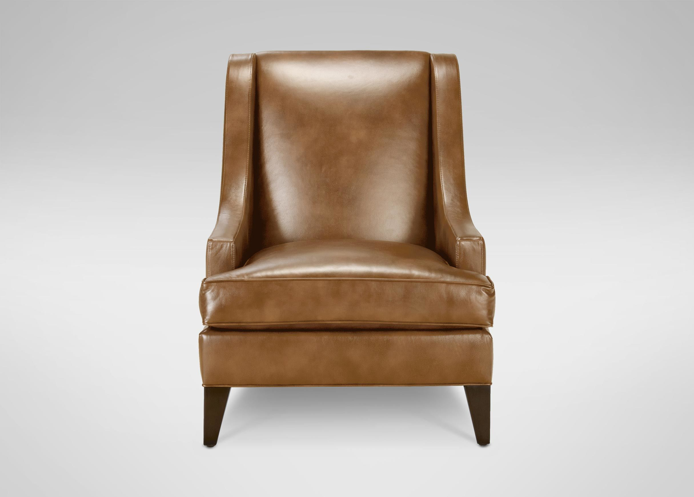 ethan allen leather chair polka dot bean bag emerson quick ship chairs chaises