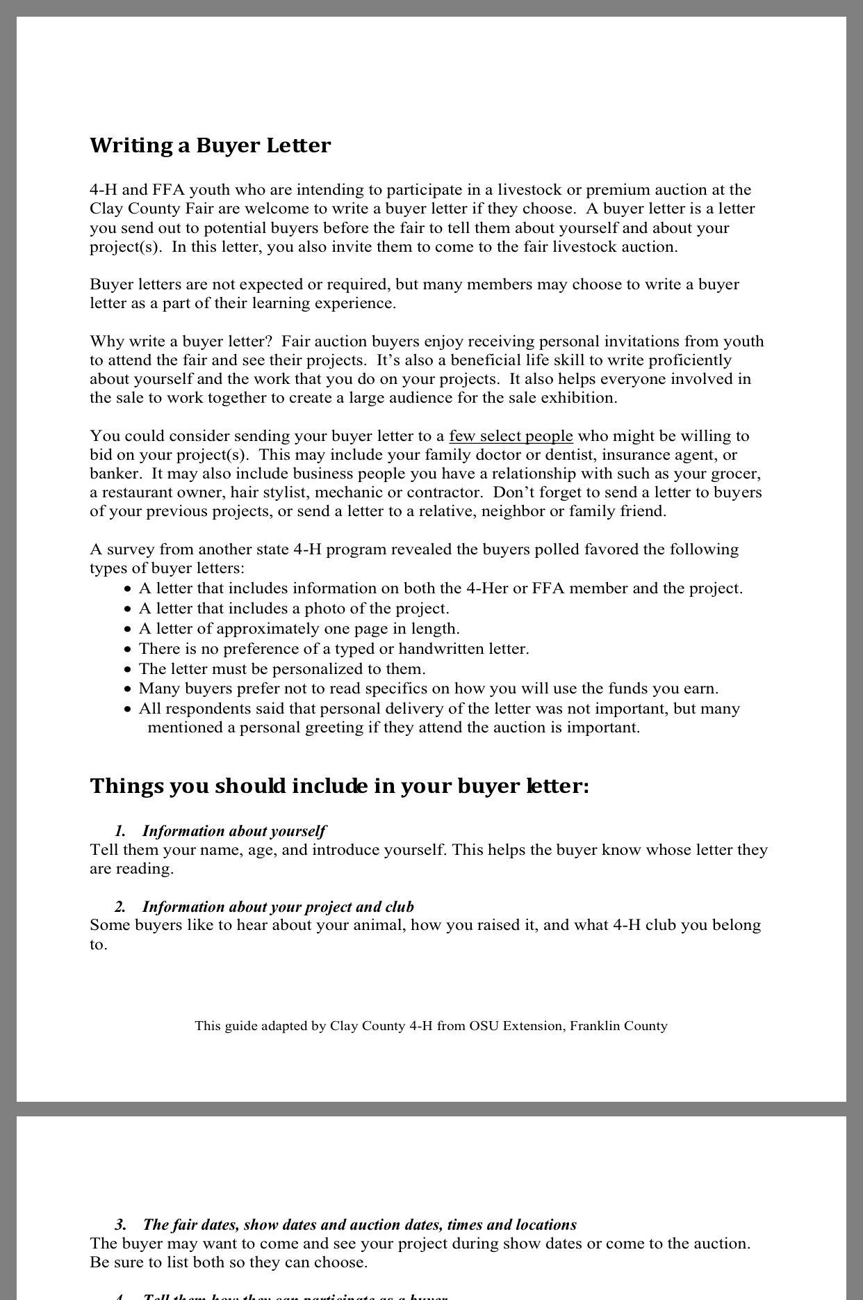 4 h buyer letter template  Pin by Caitlyn Hanover on Buyer Letters | 10 h, Lettering, Ffa