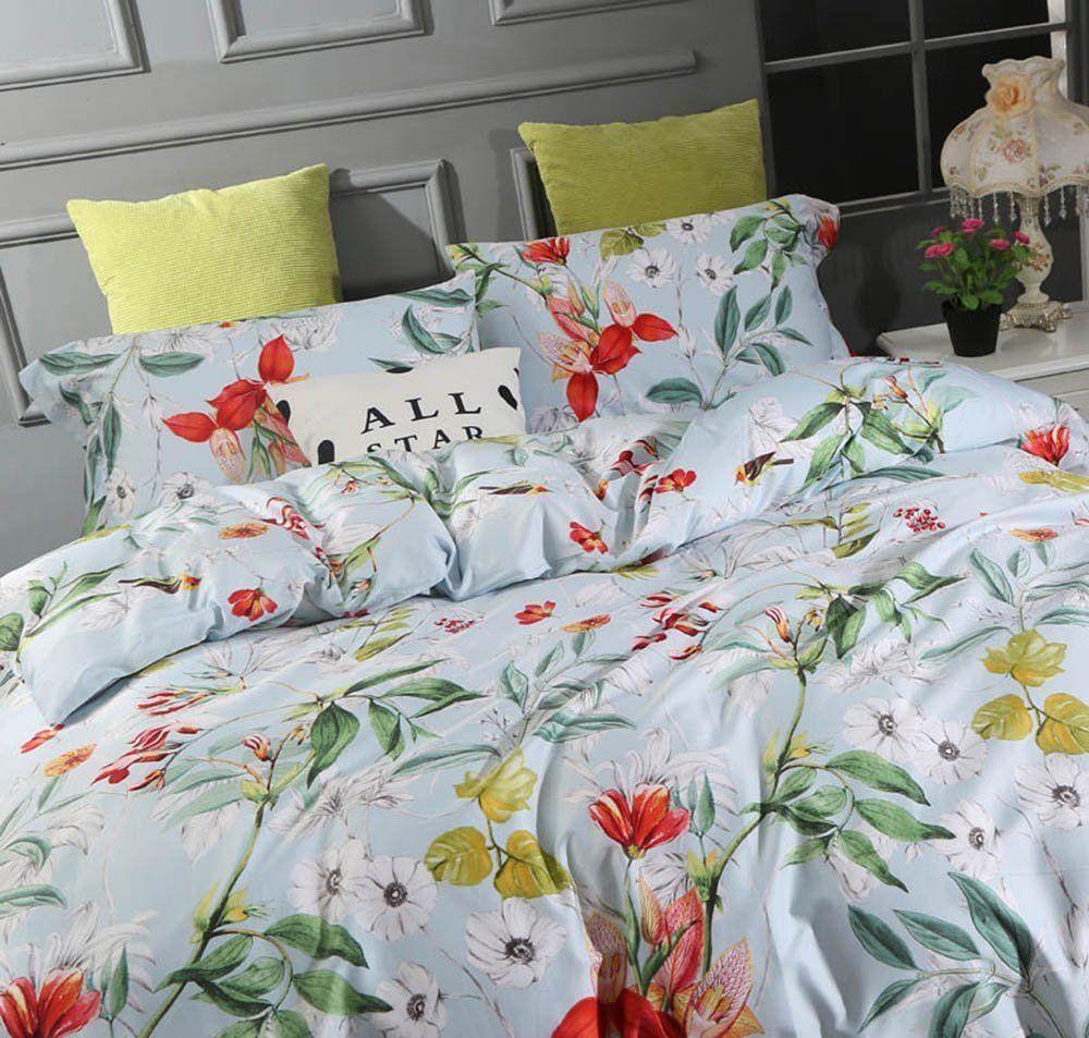 windflower bedding bloomfield floral duvet cover 3pc set cotton