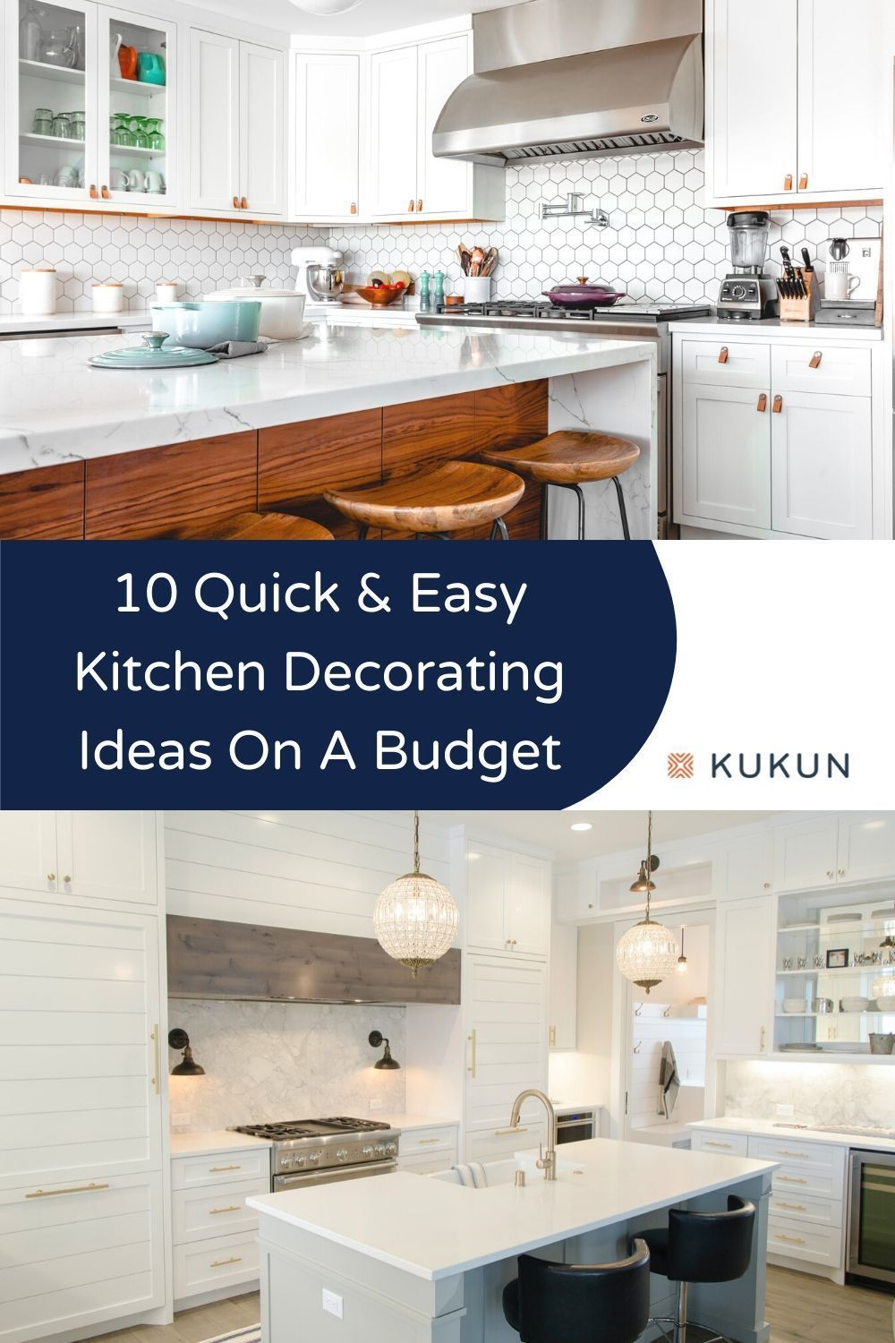 10 Quick And Easy Kitchen Decorating Ideas On A Budget Kukun Affordable Decor Design