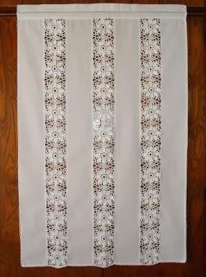 Catlogo de visillos cortinas y barrales  tejidos deco  Cortinas visillos Cortinas de Ganchillo y Cortinas tejidas