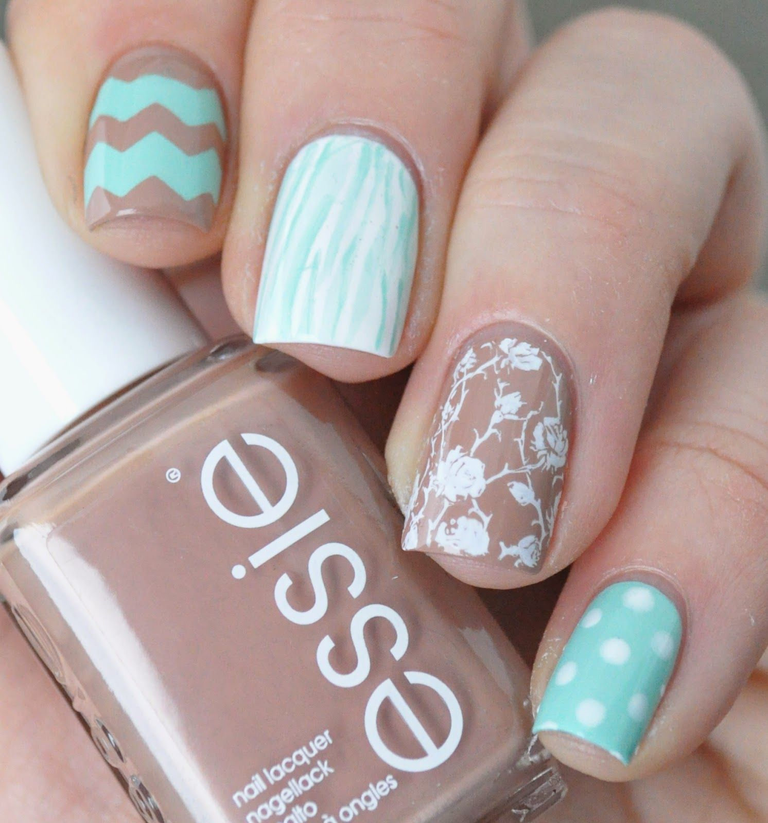 Essie Picked perfect // Mix and match