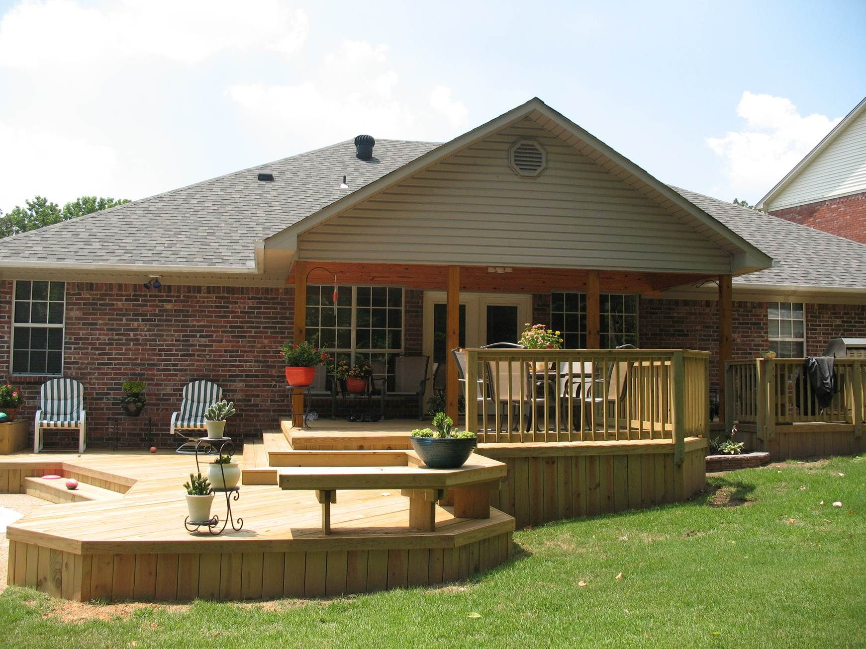 The Complete Guide About Multi Level Decks With 27 Design Ideas Pinterest Decking Porch