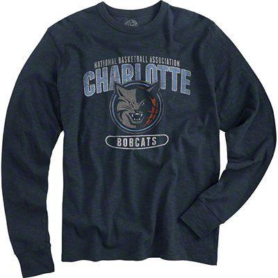 buy online 9b54e 8b8ed Charlotte Bobcats '47 Brand Scrum Long Sleeve T-Shirt ...
