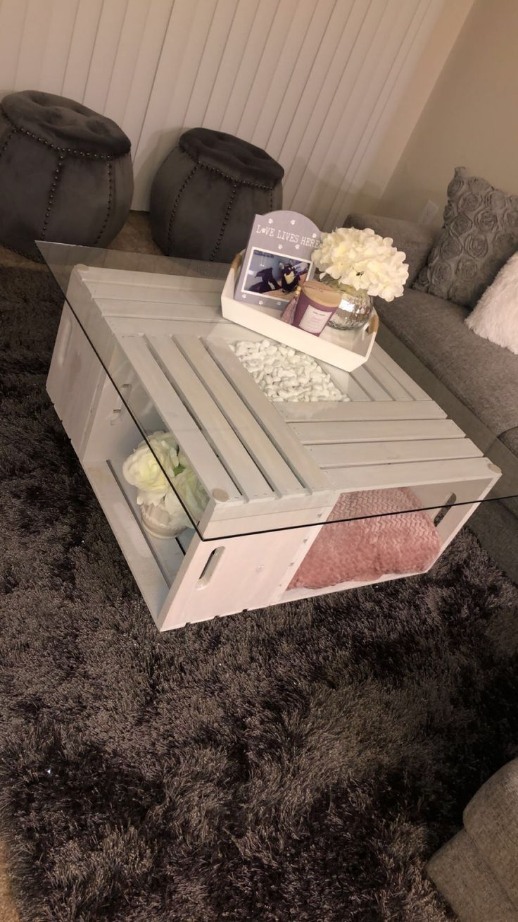 Photo of DIY crate coffee table – Future Home Ideas – #coffee #crate #DI