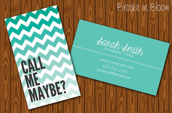 Custom ombre chevron business card printable by bibd chula vista custom ombre chevron business card printable by bibd reheart Images