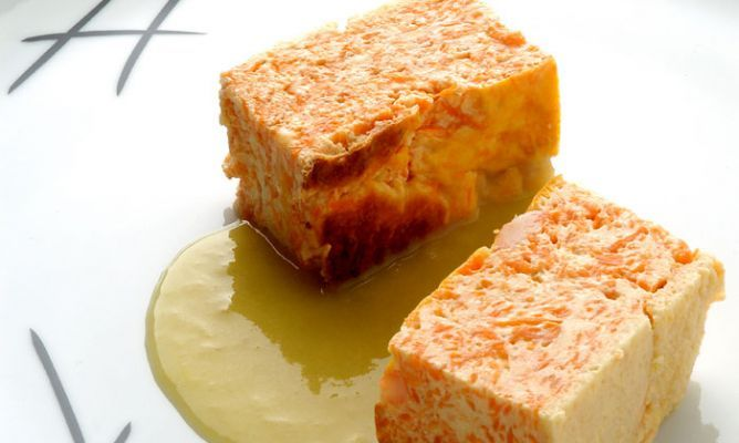 Receta De Pastel De Calabaza Con Crema De Puerros Karlos Arguiñano Receta Pastel De Calabaza Pastel De Calabaza Recetas Crema De Puerros