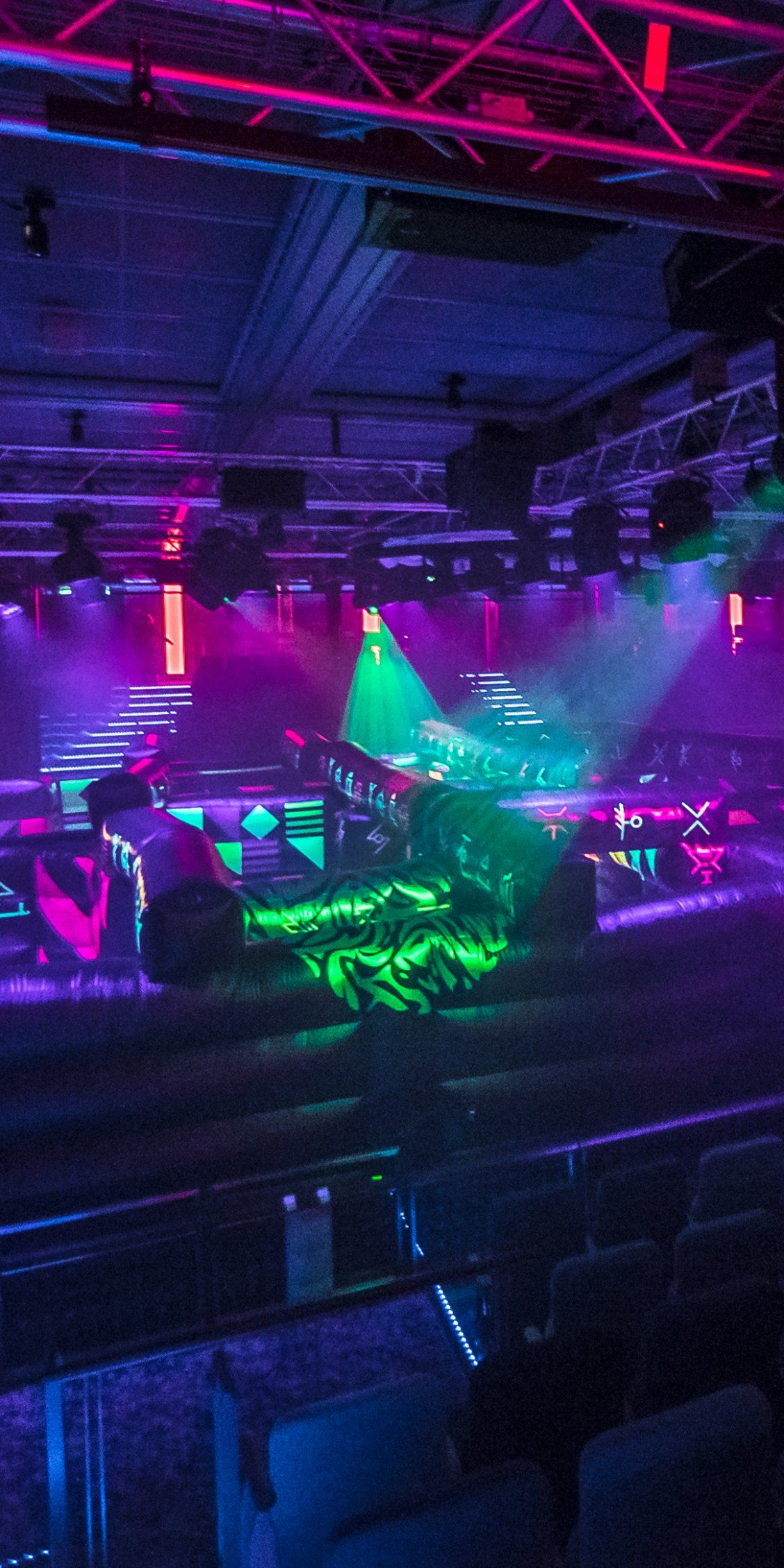 Mariner Of The Seas Go Head To Head In A Glow In The Dark Laser Tag Clash In An Epic Battle For Plane Royal Carribean Cruise Carribean Cruise Royal Caribbean