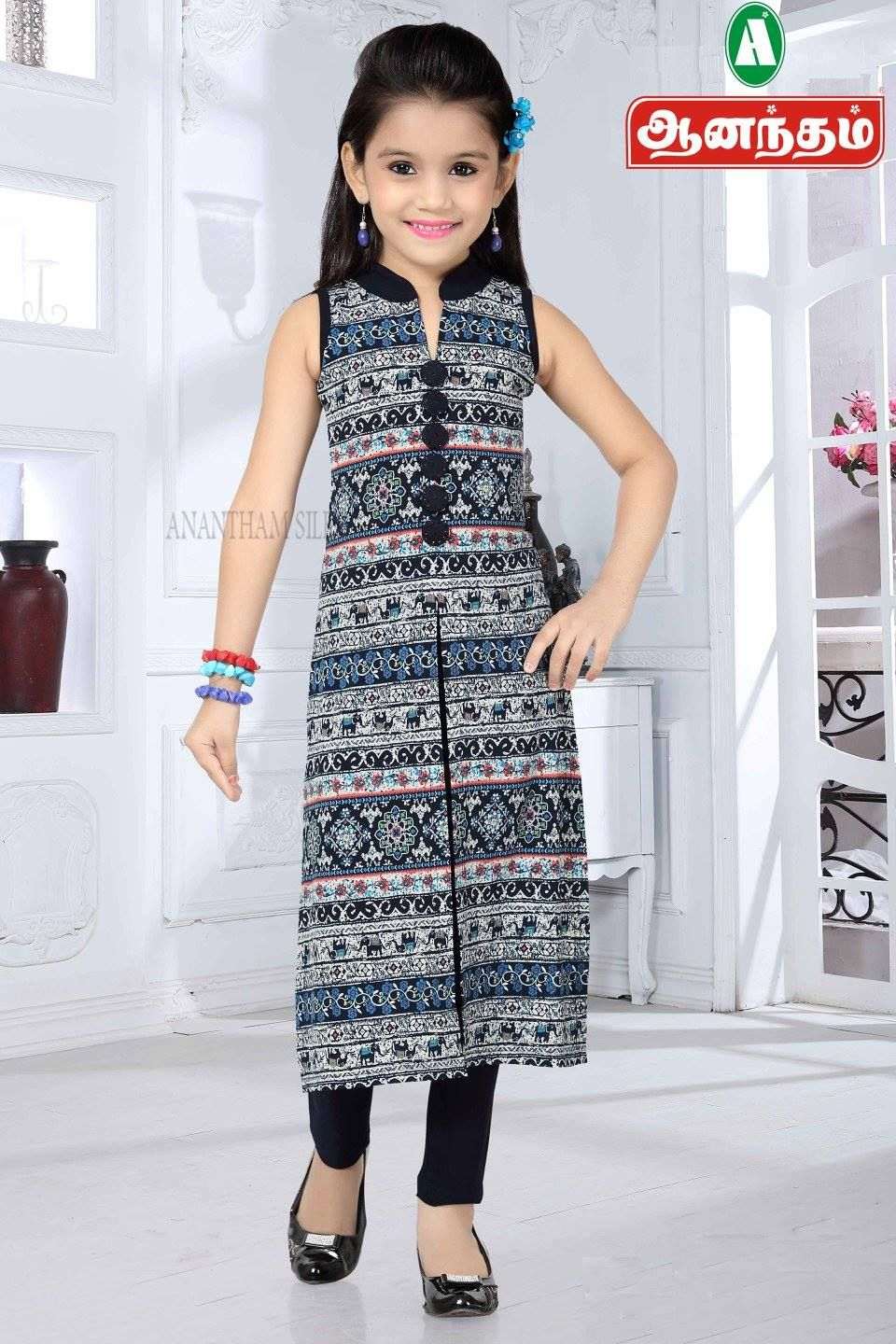 5982df51a9701 ELEGANT GIRLS READYMADE ONLY @ ANANTHAM SILKS. Find this Pin and more on  Girls's and Kid's Wear ...